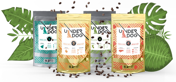 Collection of UnderDog Coffee