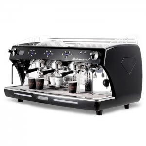 Expobar Diamant espresso machine side view black