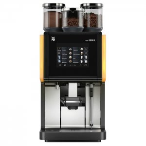 WMF 5000s bean to cup coffee machine black and silver model