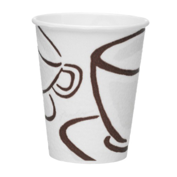 8oz Milano barrier paper cups