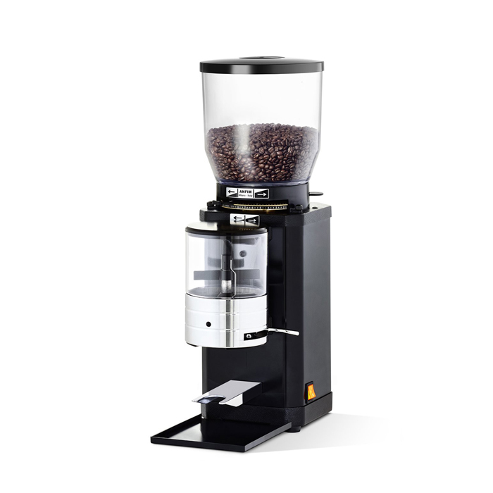 Anfim Caimano Timer Coffee Grinder right side view black model