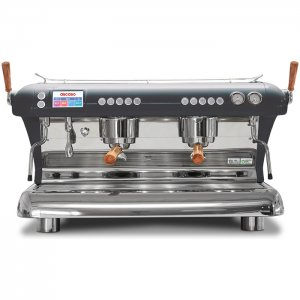 Ascaso Big Dream 2 Group espresso machine Front View silver model
