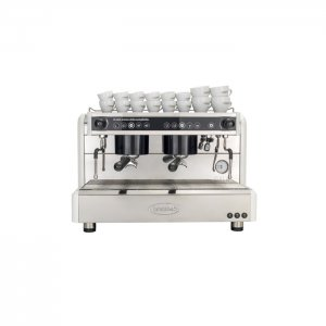 Brasilia Gala 2 group espresso machine front view