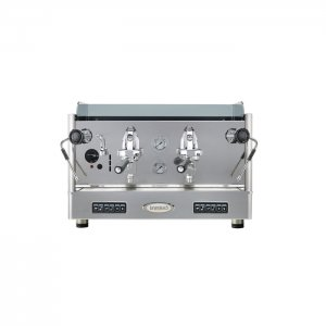 Brasilia Lucia 2 group espresso machine front view