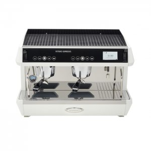 Brasilia Rito 2 group espresso machine front top view