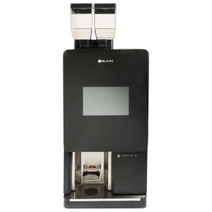 Bunn Sure Immersion bean to cup coffee machine front view black model