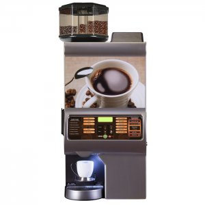 Cafection Avalon Gourmet bean to cup coffee machine Front View