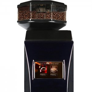 Cafection Innovation Total Lite bean to cup coffee machine Front View black model