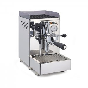 Cime CO-11 barista style coffee machine 1 group right side view silver model