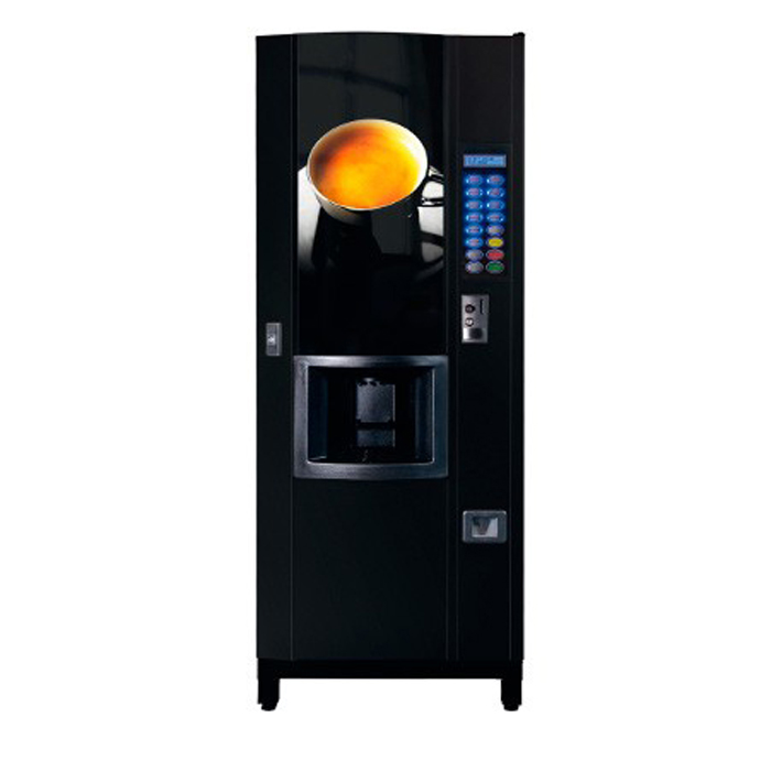 Coffetek Java commercial bean to cup coffee machine black model