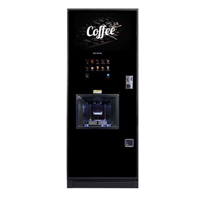 Coffetek Neo bean to cup coffee Machine Front View Black Model