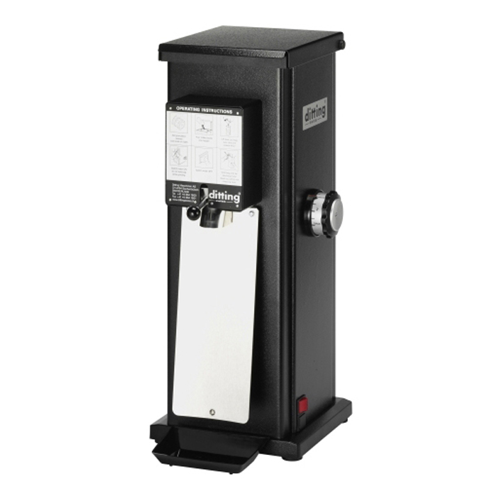 Ditting KR1203 coffee grinder side view black model