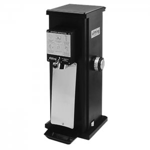 Ditting KR1403 coffee grinder side view black model