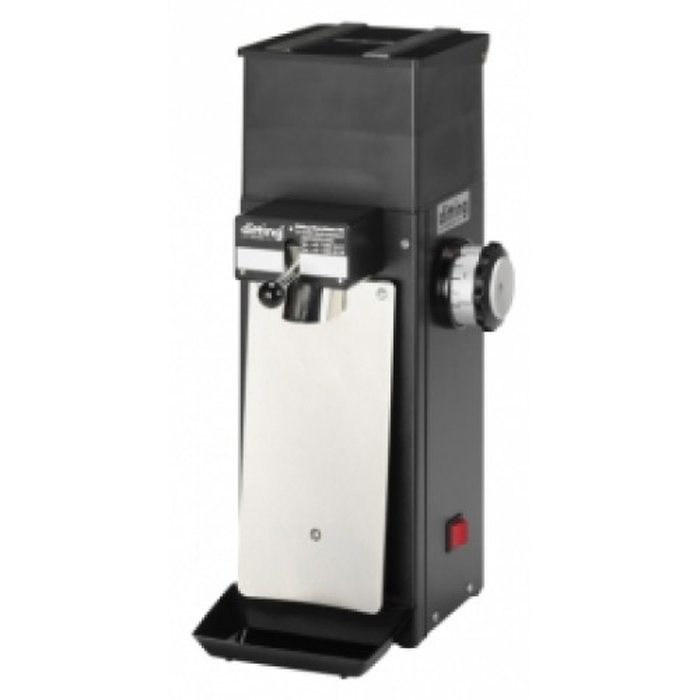 Ditting KR804 coffee grinder side view black model