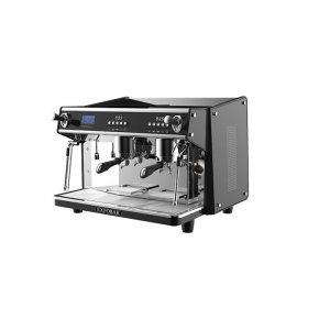 Expobar Onyx espresso machine side view black