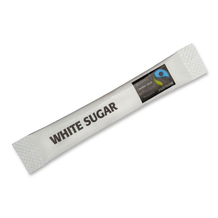 Fairtrade white sugar single sachet 700 x 700
