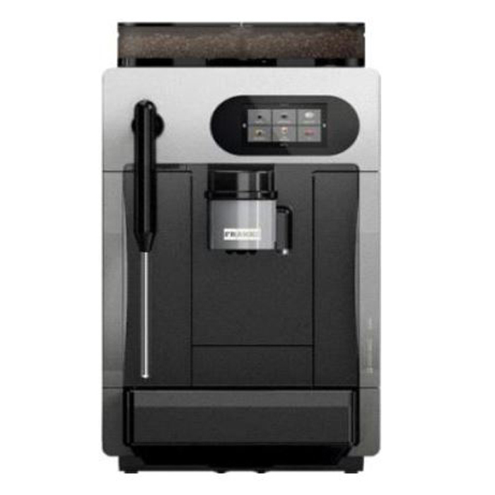 Franke A200 automatic commercial coffee machine black and silver model front view