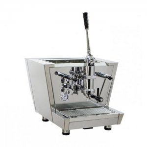 Izzo MyWay Valchiria espresso machine 1 group silver model right side view