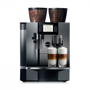 Jura Giga X9 bean to cup coffee machine front view