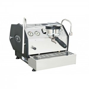 La Marzocco GS3 1 group espresso machine side view black and chrome model