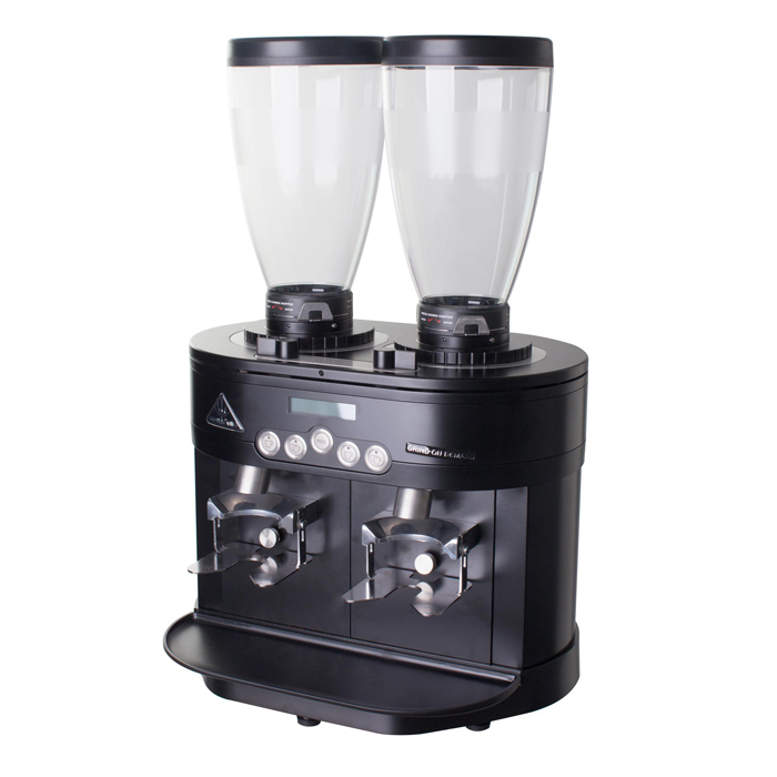 Mahlkonig K30 Twin Whole bean Coffee Grinder side view black model
