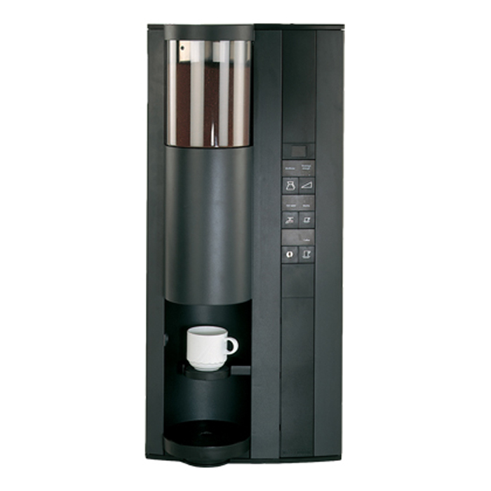 Necta FB55 bean to cup coffee machine Front View black model