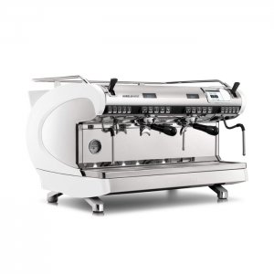 Nuova Simonelli Aurelia Wave 2 group espresso machine white and chrome model