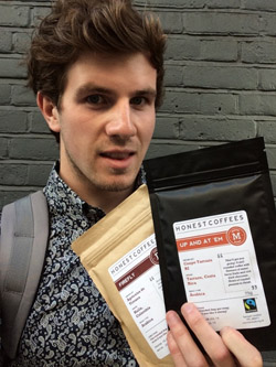 Welcome Steve to the Honest Coffees Team