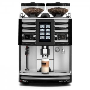 Schaerer Coffee Art Plus bean to cup coffee machine Front View