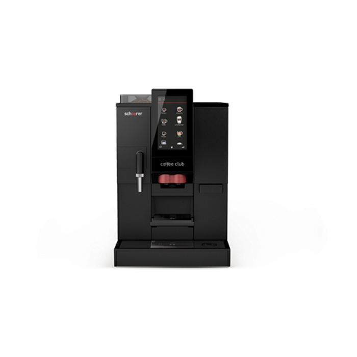 Schaerer Coffee Club Bean to Cup coffee machine Front View Black Model