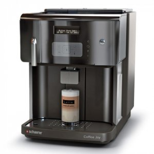 Schaerer Coffee Joy bean to cup coffee machine Side View black model