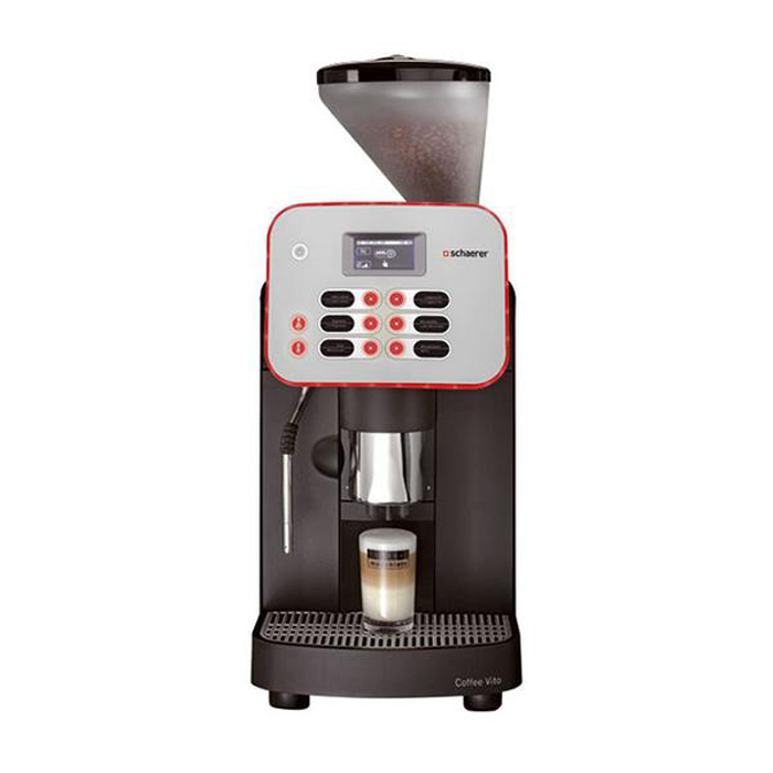 Schaerer Coffee Vito bean to cup coffee machine Front View