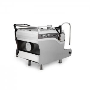 Synesso MVP Hydra 1 Group espresso machine rear view chrome model