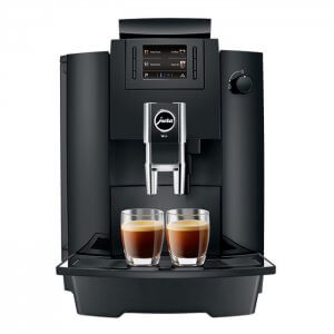 Jura WE6 bean to cup coffee machine Front View