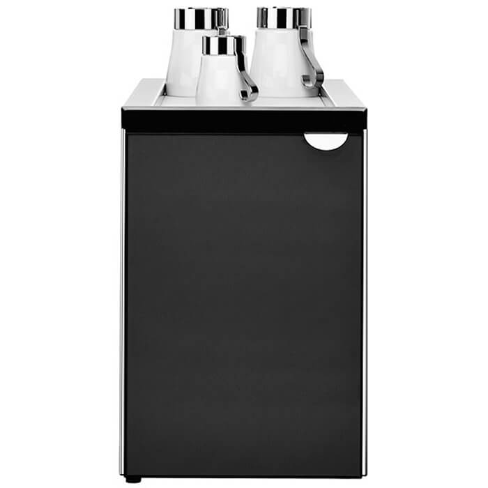 WMF 6.5L chiller with cup storage space black