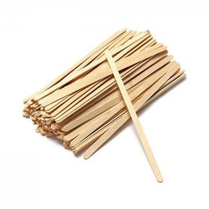 Pile of Wooden Stirrers