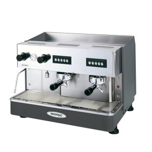 Expobar Monroc espresso machine top view chrome