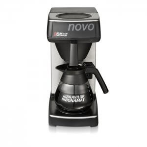 Bravilor Bonamat Novo round filter coffee machine Front View
