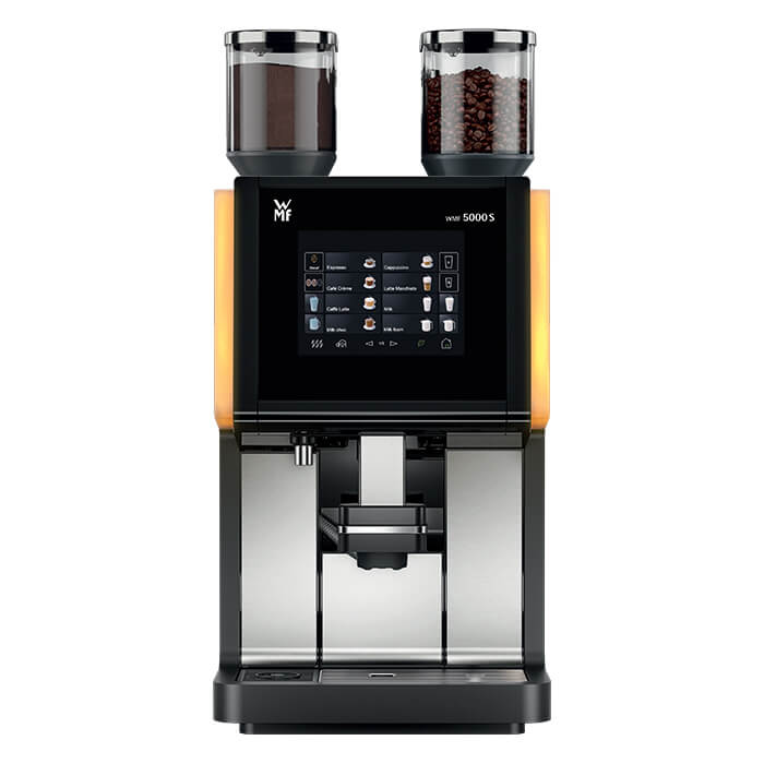 WMF 5000S bean to cup coffee machine model 1 front view