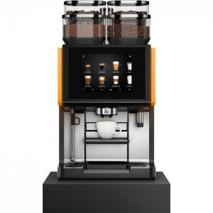 WMF 9000s bean to cup coffee machine front view