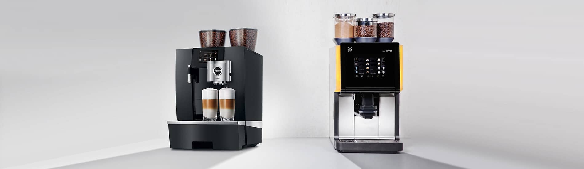 Coffee Machine Comparison: WMF 5000s vs Jura Giga X8