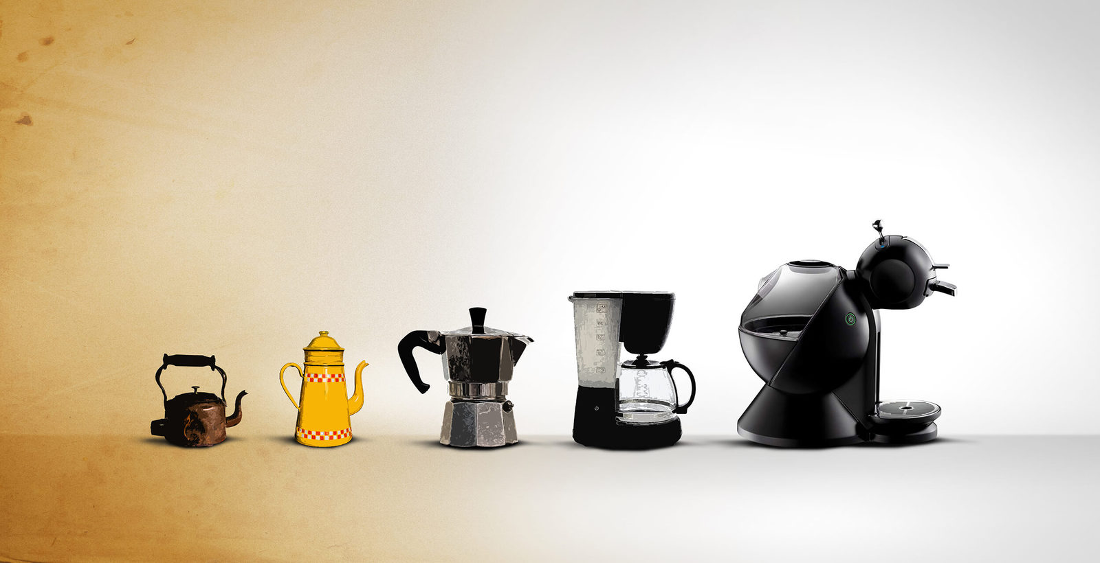 The Evolution of Coffee Machines Throughout the 20th Century