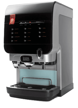 Douwe Egberts Cafitesse Excellence coffee dispenser side view