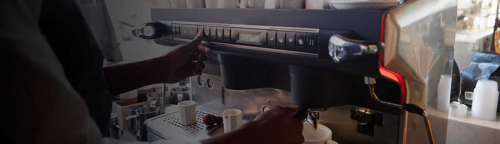 rent commercial coffee machine