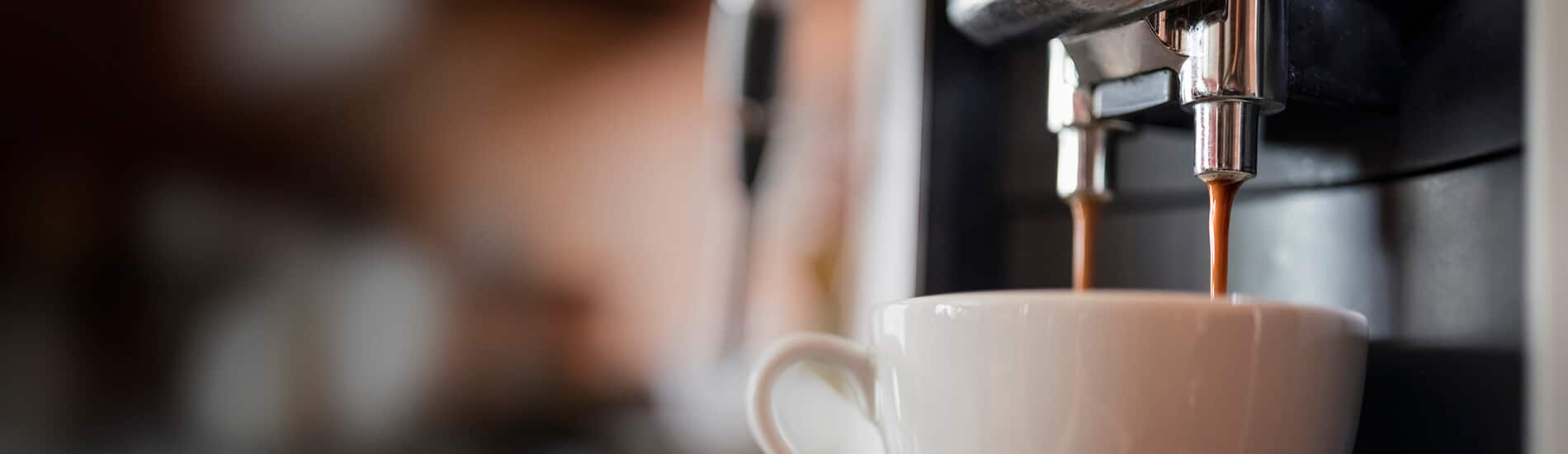 Commercial coffee machines for offices
