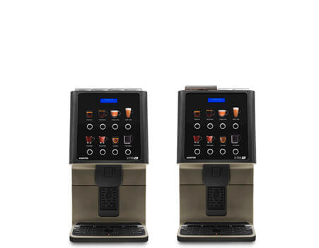Coffetek Vitro S1 bean to cup coffee machine, front view