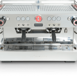 La Marzocco KB90 espresso machine two group front view