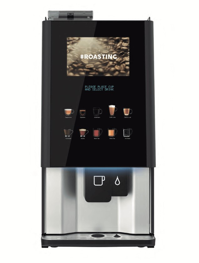 Coffetek Vitro X4 bean to cup coffee machine front view