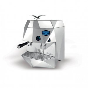 Victoria Arduino Theresia espresso machine 1 group side view