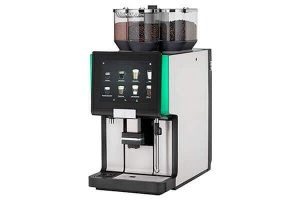 wmf 5000s+ bean to cup coffee machine side view